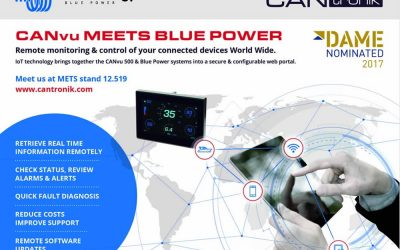 DAME Award Nomination for CANtronik & Victron Collaboration
